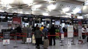 Dış hat yolcu sayısı Haziran'da yüzde 96 düştü