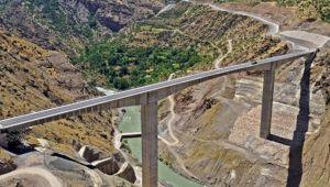 Türkiye'nin en yüksek köprüsü 11 Temmuz'da açılacak