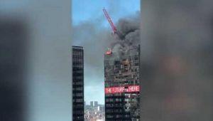 Dünya Ticaret Örgütü binasında yangın