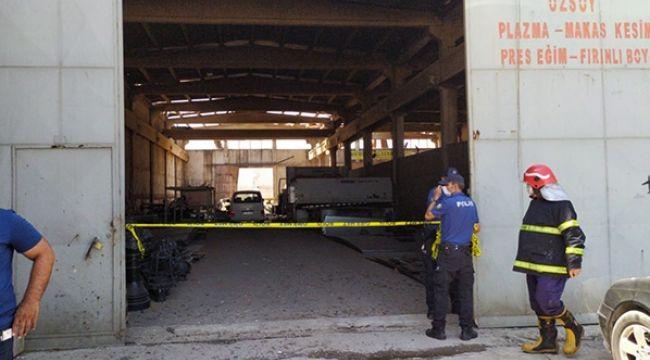 Gaziantep'te fabrikada patlama! Yaralılar var