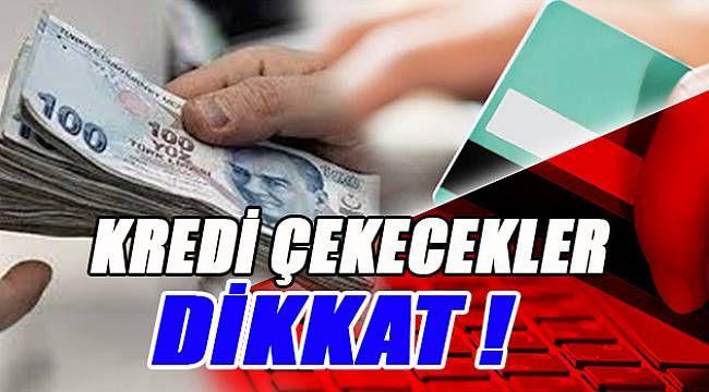 Kredi çekecekler dikkat! BDDK'dan önemli uyarı...
