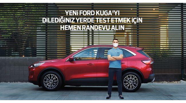 Ford'dan müşterilerine yepyeni bir test sürüşü deneyimi: