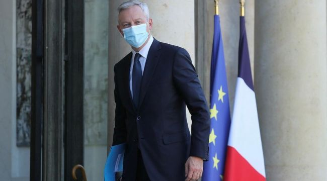 Fransa Ekonomi Bakanı Le Maire Kovid-19'a yakalandı