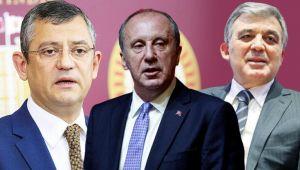 Kılıçdaroğlu'ndan 'Gül' ve 'İnce' açıklaması