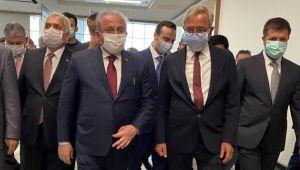Mustafa Şentop Tekirdağ Şehir Hastanesi'ni ziyaret ettiTürkiye Büyük Millet Meclisi Başkanı