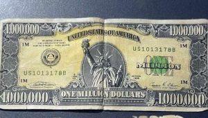 Tavşanlı'da 1 milyon dolarlık banknot ele geçirildi!