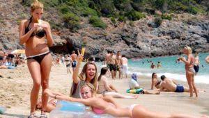 Turist sayısı ağustosta yüzde 71 azaldı
