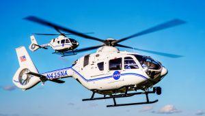 Airbus, uzay keşfini desteklemek için NASA'ya iki H135 helikopteri teslim etti