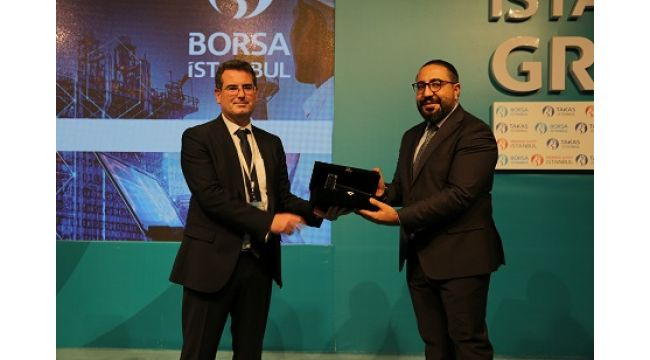Borsa İstanbul'da gong Kontrolmatikiçin çaldı