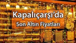 İstanbul Kapalı çarşı altının kapanış fiyatları (01.10.2020)