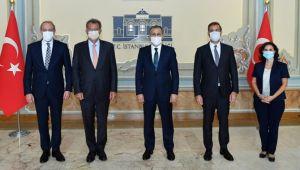 İstanbul Valisi Yerlikaya ile TÜSİAD heyeti bir araya geldi