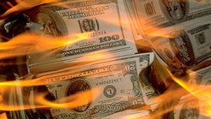 Rezerv para dolar gelişenler için tehlike