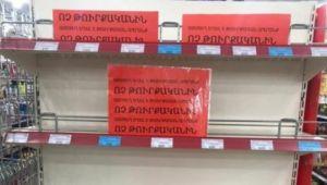 Ermenistan'dan Türk ürünlerine yasak