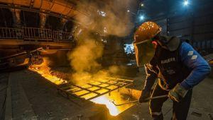 Küresel ham çelik üretimi Kasım'da arttı