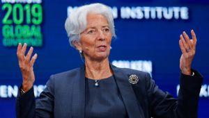 Lagarde: İkinci dalga hafiflese de ekonomik sıkıntılar sürüyor