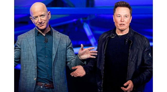 En zengin iki milyarderin 'uzay savaşı'