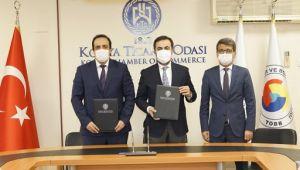 Konya Ticaret Odası ve Halkbank arasında protokolü imzalandı