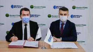 Kuveyt Türk ile Generalsolar Enerji Çatı GES'te işbirliğine gitti