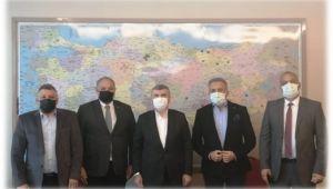 TBMM Turizm Komisyonu Başkanı Sn.Tahir Akyürek'i ziyaret ettik.