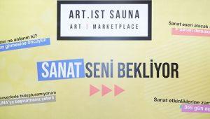Türkiye'nin İlk Sanat Pazaryeri Art. IstSauna'daEser Satışları Başladı