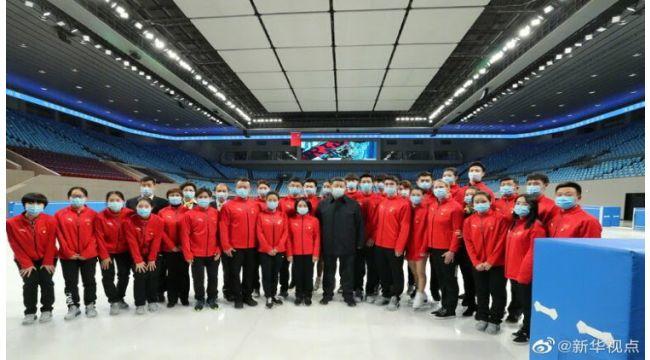 Xi Jinping, 2022 Kış Olimpiyat hazırlıklarını inceledi