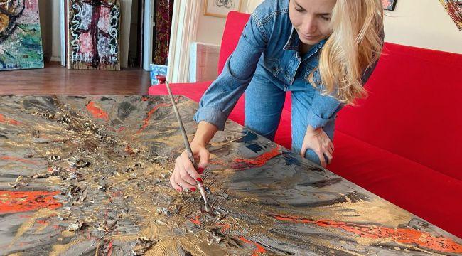 Çağdaş Sanatın Avrupaya açılan yüzüÖzge Gürkan