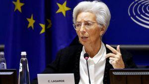 Lagarde: Vaka sayıları ve kısıtlayıcı tedbirler aşağı yönlü risk oluşturuyor