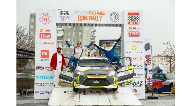 ESOK Ralli'sinde 'Fiesta Rally Cup'heyecanı doruktaydı!