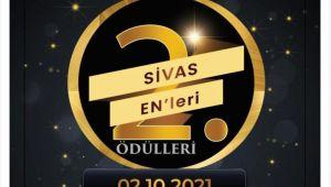 2. Sivas EN'leri Ödülleri sahiplerine kavuşuyor.