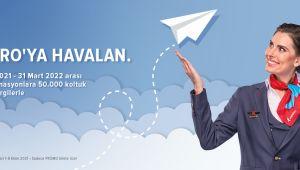CorendonAirlines ile 1 Euro'ya Havalanın!