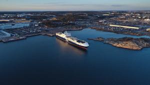 DFDS Akdeniz İş Birimi, Mersin-Trieste hattındaki 3. gemisini hizmete sunarken, lojistik sektörünün ve iş dünyasının liderleriyle buluştu