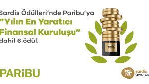Paribu'ya Sardis Ödülleri'nden 6 ödül Yılın En Yaratıcı Finansal Kuruluşu Paribu oldu