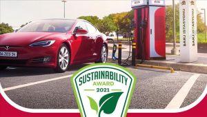 Zorlu Enerji'nin Elektrikli Araç Şarj İstasyon Ağı ZES'e üç ödül birden