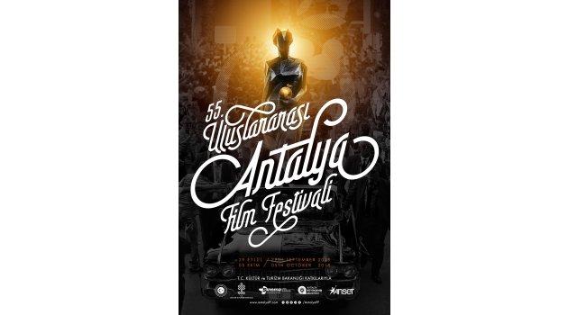 55. UluslararasıAntalya Film Festivali'nin afişiyayınlandı