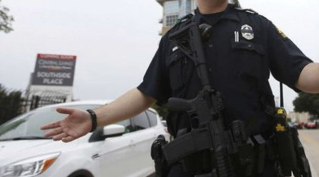 ABD'de polise