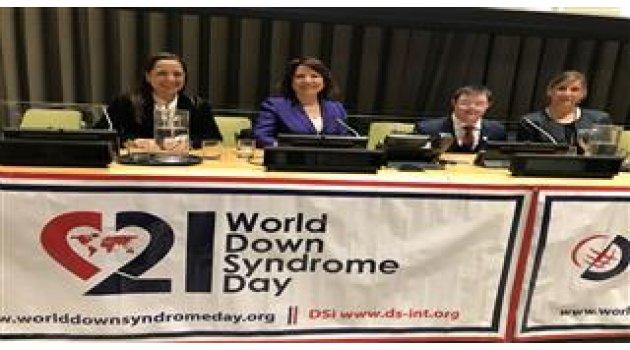 Birleşmiş Milletler'de konuşma yapan Down sendromlu Türk genci büyük alkış aldı
