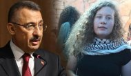 Cumhurbaşkanı Yardımcısı Oktay'dan 'Ahed Tamimi' mesajı