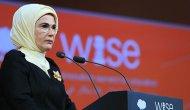 Emine Erdoğan, Katar'da 'Eğitim İçin Dünya İnovasyon Zirvesi'nde konuştu