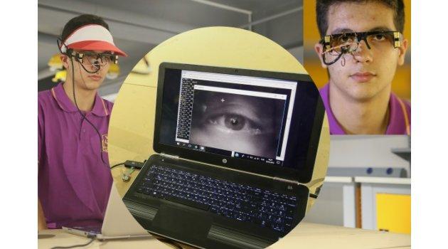 Engelliler için gözle bilgisayar kullandıran yazılım geliştirdi