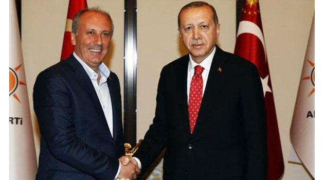 İnce-Erdoğan görüşmesi başladı! İşte ilk kare