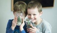 'Kar küresi atölyesi' çocuklara kimyayı sevdirecek