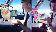 Kokpitteki pilotlar şoka uğrattı! 11 bin 500 metre yükseklikte çekilen görüntüler...