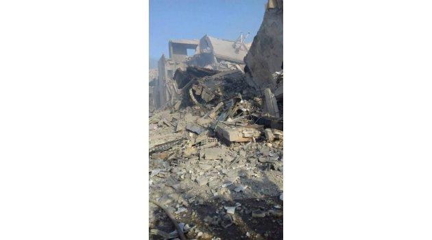 Suriye'ye saldırıda sivil alanlar da vuruldu: