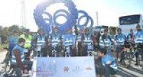 Dünya Diyabet Günü'nde Diyabete Dikkat Çekmek için Pedal Çevirdiler