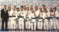 Galatasaray, Judo Altın Lig'de Avrupa 3'üncüsü oldu