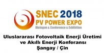 SNEC Fotovoltaik Enerji Fuarı 2018 Rekor Kırdı