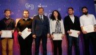 Yeni nesil gazeteci adayları sertifikalarını aldı